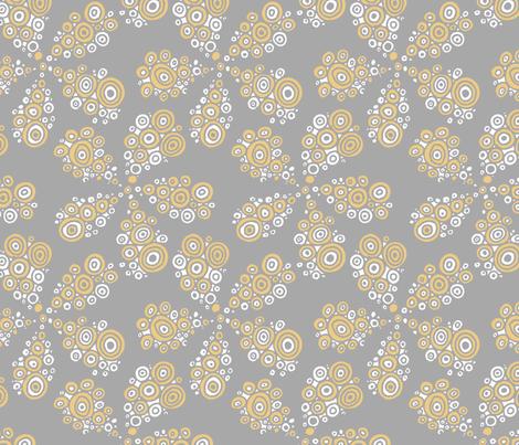 bubbled_flowers fabric by renule on Spoonflower - custom fabric