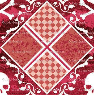 Skull Plaid 2