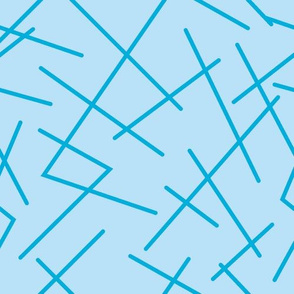 zig zag blue