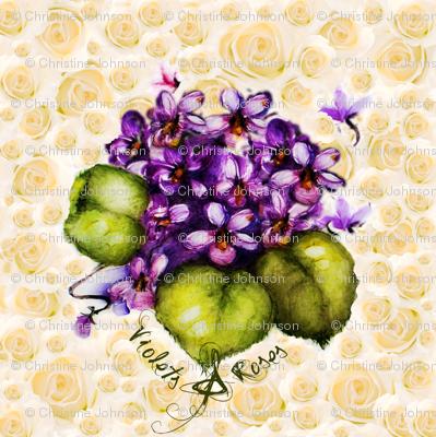 Violets & Roses