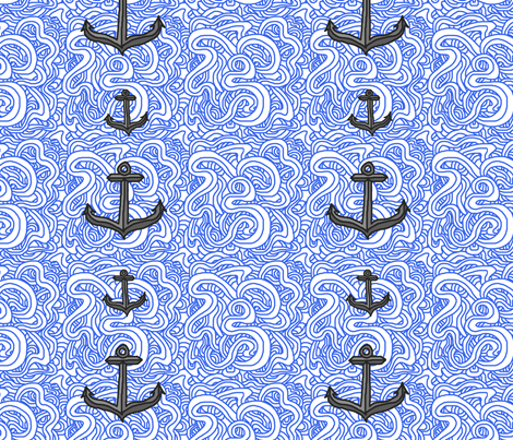 My Sunken Treasure fabric by leighr on Spoonflower - custom fabric