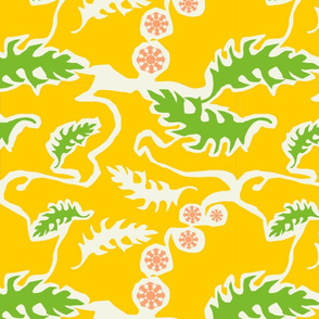 garden yellow