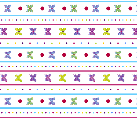 butterfly fabric by mandollyn on Spoonflower - custom fabric