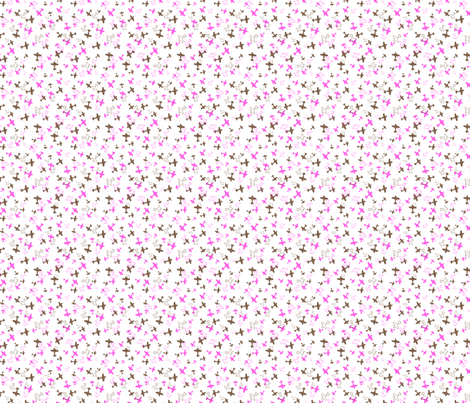 Scattered Biplanes fabric by beth_d_ on Spoonflower - custom fabric