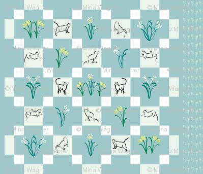 Puss-in-the Garden-quilt
