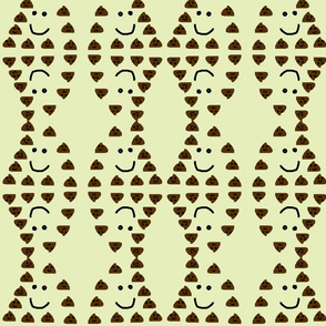 Cute Chocolate Chips-Light Baby Green