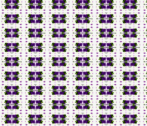 """Violet Place cards """"Sample"""" fabric by paragonstudios on Spoonflower - custom fabric"""