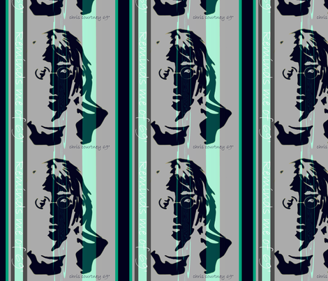 ORIGINAL reminds me of 69' Stripe #10 fabric by paragonstudios on Spoonflower - custom fabric
