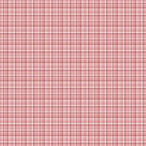 Spring Plaid - peach