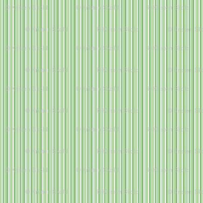 Spring Stripes - green