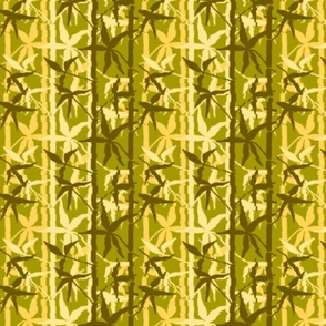 Bamboo Jungle Yellow