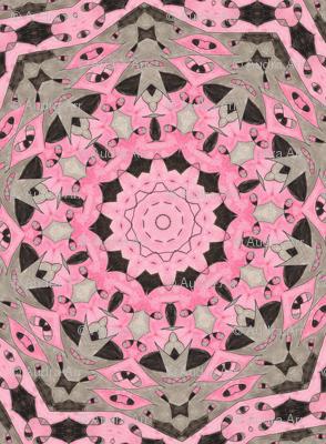 Chuckles Pink & Black Kaleidescope