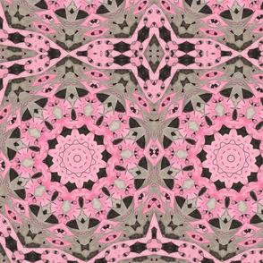 Chuckles Pink & Black Kaleidescope