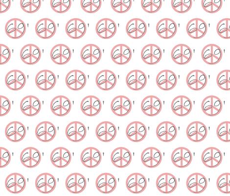 69' Peace fabric by paragonstudios on Spoonflower - custom fabric
