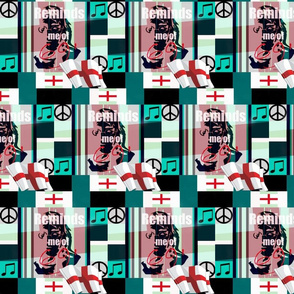 "british Cheater Quilt"" Reminds me of 69'-ed-ed"