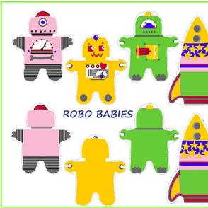 Girly Robo Babies