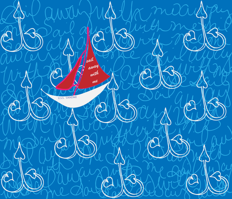 nautical fabric by southern_spunk on Spoonflower - custom fabric