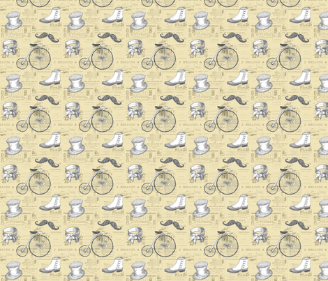 Old-Timey fabric by tamarack on Spoonflower - custom fabric