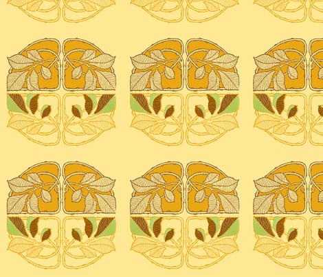 nouveau3 fabric by femmenouveau on Spoonflower - custom fabric