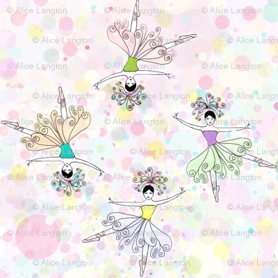 ballet dancers kaleidoscope