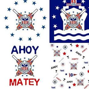 AHOY MATEY SHIP
