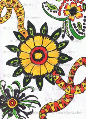 RetroCDG Sunflower Twist