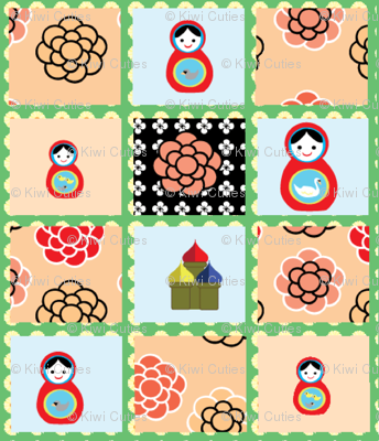 Russian Doll Cheaters Cloth