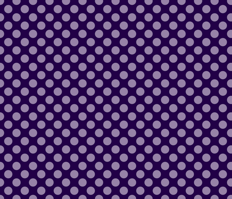 Purple Spot fabric by spellstone on Spoonflower - custom fabric