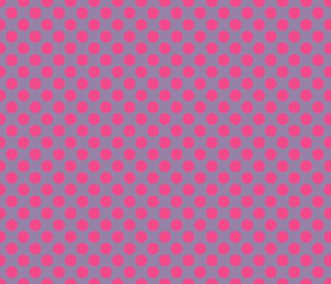 Purple Pink Spot fabric by spellstone on Spoonflower - custom fabric