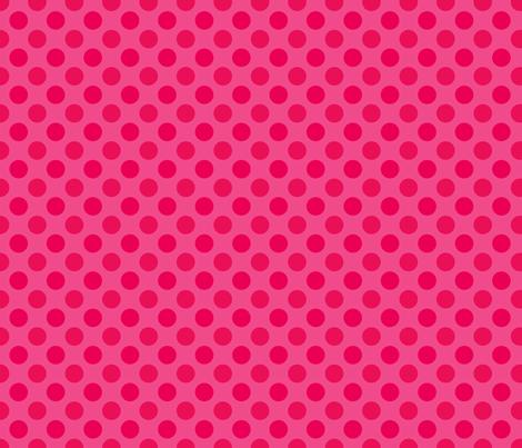 Pink Spot fabric by spellstone on Spoonflower - custom fabric