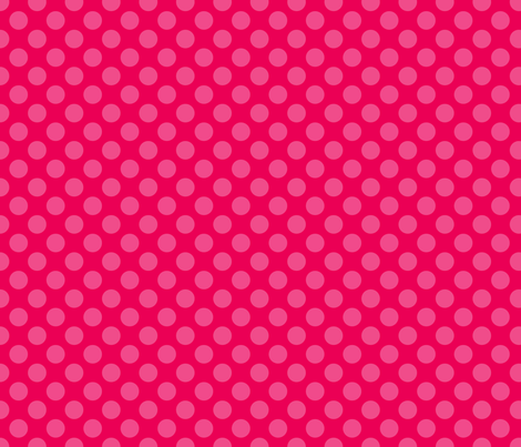 Red Pink Spot fabric by spellstone on Spoonflower - custom fabric