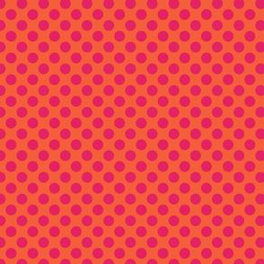 Orange Red Spot