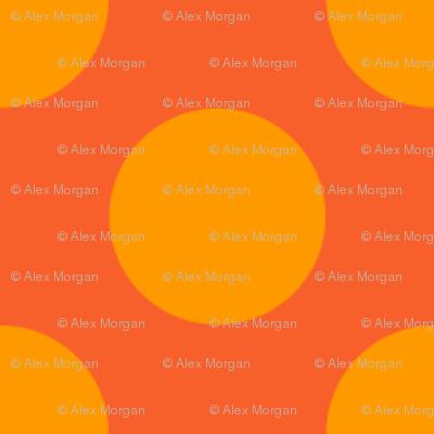 Dark Orange Spot