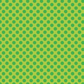 Lime Green Spot