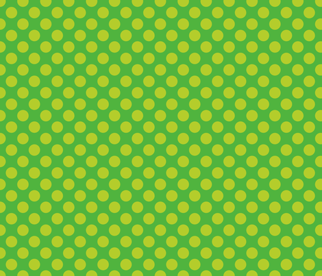 Mid Green Spot fabric by spellstone on Spoonflower - custom fabric