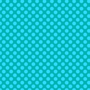 Blue Green Spot