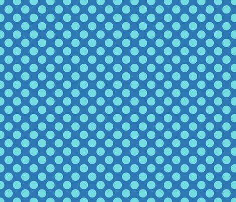 Mid Blue Spot fabric by spellstone on Spoonflower - custom fabric