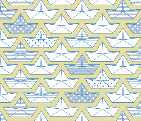 petits-bateaux fabric by milto42 on Spoonflower - custom fabric