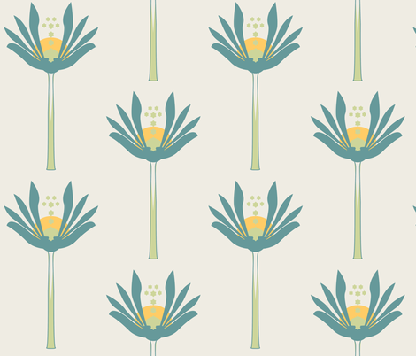 Stemmed Block fabric by emmyupholstery on Spoonflower - custom fabric