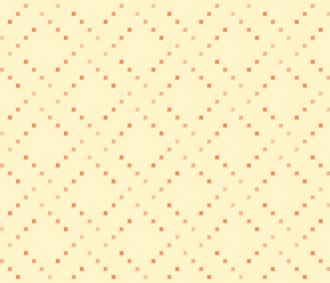 check_box_1_gradient_orange_on_cream fabric by victorialasher on Spoonflower - custom fabric