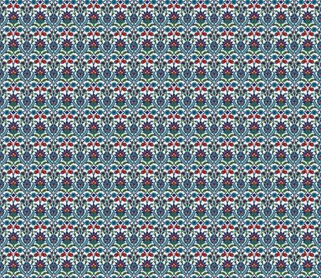 TurkishFlowerSquare fabric by zephyrlondon on Spoonflower - custom fabric