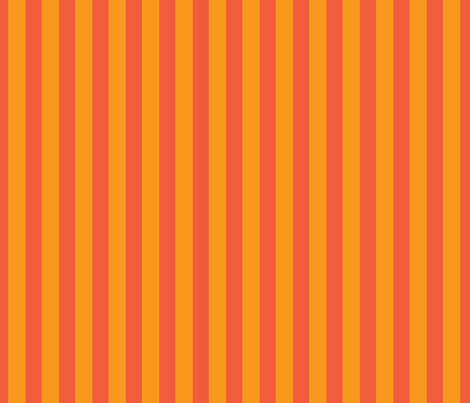 Spellstone Stripe_orange fabric by spellstone on Spoonflower - custom fabric
