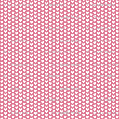 ditsy heart pink