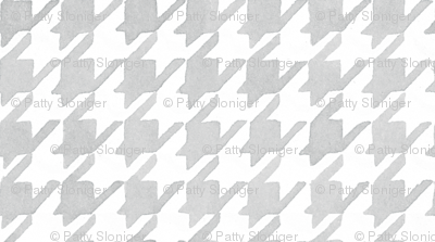 Houndstooth - Silver
