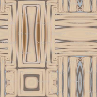 Ocean Villa Beach Geometric © 2010 Gingezel™ Inc