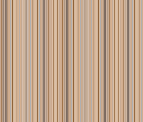 Ocean Villa Beach Stripe © 2010 Gingezel™ Inc. fabric by gingezel on Spoonflower - custom fabric