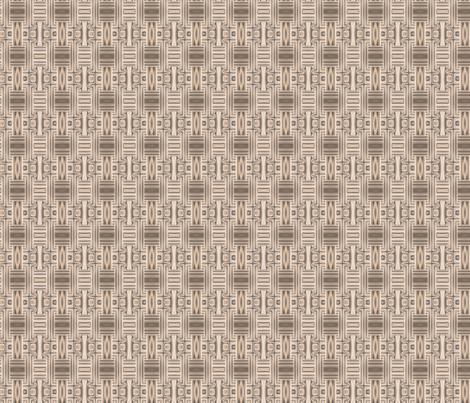 Ocean Villa Terrace Geometric © 2010 Gingezel Inc. fabric by gingezel on Spoonflower - custom fabric