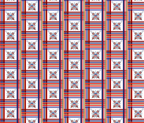 AHOY MATE plaid fabric by paragonstudios on Spoonflower - custom fabric