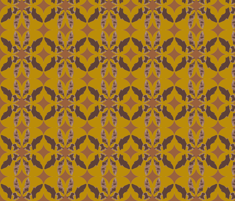 Quilted Boston fabric by missyq on Spoonflower - custom fabric