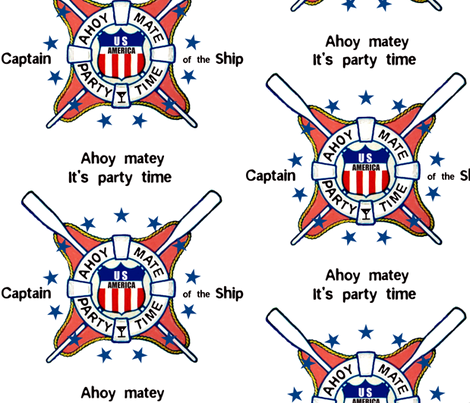 AHOY MATE fabric by paragonstudios on Spoonflower - custom fabric